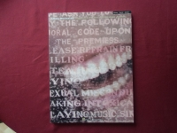 Alanis Morissette - Supposed Former Infatuation Junkie  Songbook Notenbuch Piano Vocal Guitar PVG