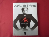 Alicia Keys - Girl on Fire  Songbook Notenbuch Piano Vocal Guitar PVG