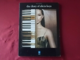 Alicia Keys - The Diary of  Songbook Notenbuch Piano Vocal Guitar PVG