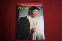Andrea Bocelli - Anthology  Songbook Notenbuch Vocal Guitar