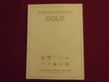 Andrew Lloyd Webber - Gold  Songbook Notenbuch Piano Vocal Guitar PVG
