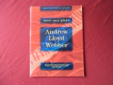 Andrew Lloyd Webber - More Easy Piano  Songbook Notenbuch Easy Piano Vocal