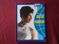 Aretha Franklin - 20 Greatest Hits  Songbook Notenbuch Piano Vocal Guitar PVG