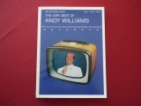 Andy Williams - The Very Best of  Songbook Notenbuch Piano Vocal Guitar PVG