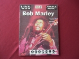 Bob Marley - Live with (mit 2 CDs)  Songbook Notenbuch Vocal Guitar