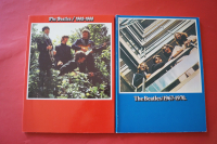 Beatles - 1962-66 & 1967-70  Songbooks Notenbücher Piano Vocal Guitar PVG