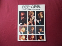 Bee Gees - To whom it may concern  Songbook Notenbuch Piano Vocal Guitar PVG