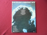 Bob Dylan - Greatest Hits  Songbook Notenbuch Piano Vocal Guitar PVG