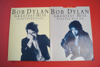 Bob Dylan - Greatest Hits Songtab-Edition Vol. 1 & 2  Songbooks Notenbücher Guitar