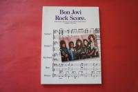 Bon Jovi - Rock Score  Songbook Notenbuch für Bands (Transcribed Scores)