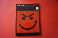 Bon Jovi - Have a nice Day  Songbook Notenbuch Vocal Guitar
