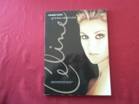 Celine Dion - Let´s talk about Love  Songbook Notenbuch Piano Vocal Guitar PVG