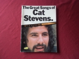 Cat Stevens - The Great Songs of  Songbook Notenbuch Piano Vocal Guitar PVG
