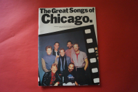 Chicago - The Great Songs of  Songbook Notenbuch Piano Vocal Guitar PVG