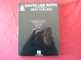 David Lee Roth & Van Halen - The Songs of  Songbook Notenbuch Vocal Guitar