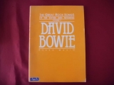 David Bowie - Great Rock Songs  Songbook Notenbuch Piano Vocal Guitar PVG