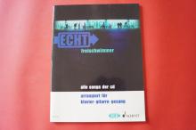 Echt - Freischwimmer  Songbook Notenbuch Piano Vocal Guitar PVG
