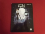 Corpse Bride  Songbook Notenbuch Piano Vocal Guitar PVG