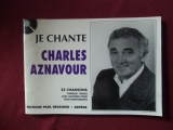 Charles Aznavour - Je chante  Songbook  Vocal Chords