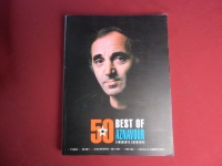 Charles Aznavour - 50 Best of  Songbook Notenbuch Piano Vocal Guitar PVG