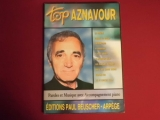 Charles Aznavour - Top Aznavour  Songbook Notenbuch Piano Vocal Guitar PVG