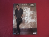 Chris August - The Upside of Down  Songbook Notenbuch Piano Vocal Guitar PVG