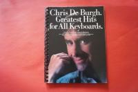 Chris de Burgh - Greatest Hits  Songbook Notenbuch Vocal Keyboard