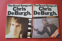 Chris de Burgh - Great Songs of 1 & 2 Songbook Notenbuch Piano Vocal Guitar PVG