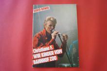 David Bowie - Christiane F. Wir Kinder vom Bahnhof Zoo  Songbook Notenbuch Vocal Guitar