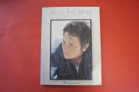 K.D. Lang - Greatest Hits  Songbook Notenbuch Piano Vocal Guitar PVG