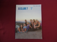 S Club 7 - 7  Songbook Notenbuch Piano Vocal Guitar PVG