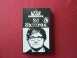 Ed Sheeran - Little Back Songbook  Songbook  Vocal Guitar Chords