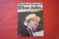 Elton John - The Great Songs of  Songbook Notenbuch Piano Vocal Guitar PVG