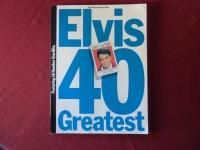Elvis - 40 Greatest  Songbook Notenbuch Vocal Easy Guitar