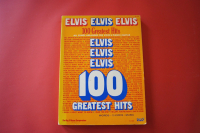 Elvis - 100 Greatest Hits  Songbook Notenbuch Piano Vocal Guitar PVG
