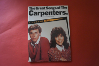Carpenters - The Great Songs of Songbook Notenbuch Piano Vocal Guitar PVG
