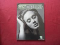 Adele - 21 Songbook Notenbuch Easy Keyboard Vocal