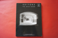 Editors - The Back Room Songbook Notenbuch  Vocal Guitar