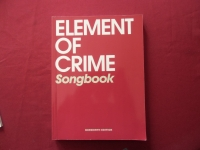 Element of Crime - Songbook  Songbook Notenbuch Vocal Guitar