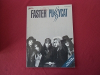 Faster Pussycat - Faster Pussycat (ohne Poster)  Songbook Notenbuch Vocal Guitar