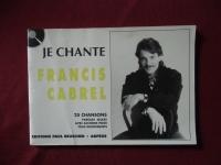 Francis Gabrel - Je chante  Songbook  Vocal Chords