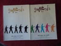 Genesis - Live The Way we walk Vol. 1&2  Songbooks Notenbücher Piano Vocal Guitar PVG
