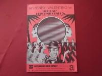 Henry Valentino - Melodie der Welt  Songbook Notenbuch Piano Vocal Guitar PVG