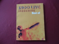 Indochine - Indo Live (Best of)  Songbook Notenbuch Piano Vocal Guitar PVG