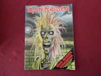 Iron Maiden - Iron Maiden  Songbook Notenbuch Vocal Guitar