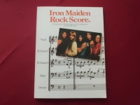 Iron Maiden - Rock Score  Songbook Notenbuch für Bands (Transcribed Scores)
