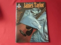 James Taylor - The Best of  Songbook Notenbuch Vocal Guitar