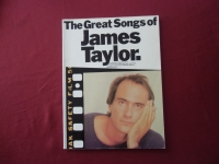 James Taylor - The Great Songs of  Songbook Notenbuch Piano Vocal Guitar PVG
