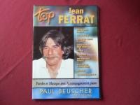 Jean Ferrat - Top Ferrat  Songbook Notenbuch Piano Vocal Guitar PVG
