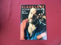 Klaus Lage - Schweissperlen  Songbook Notenbuch Vocal Guitar
